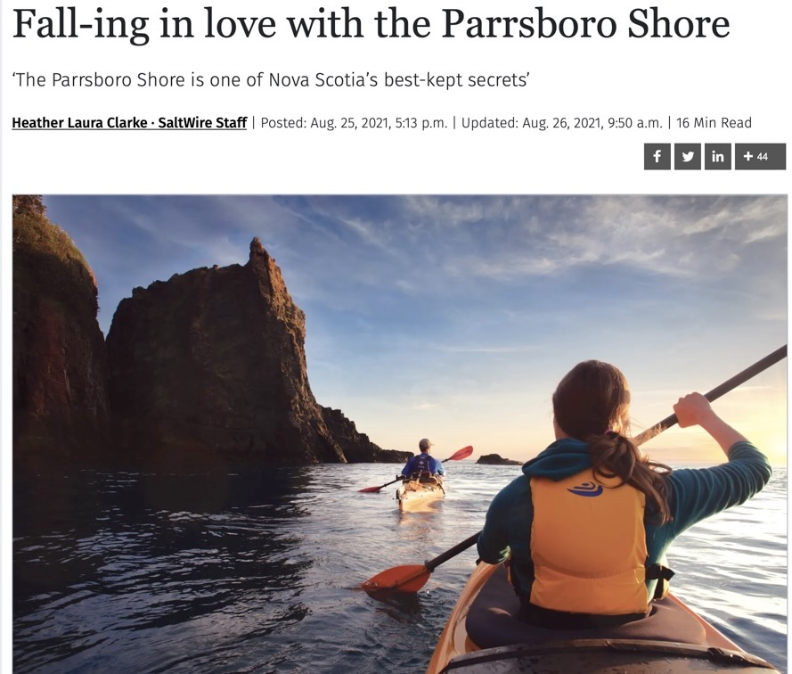 Paddling the Bay of Fundy